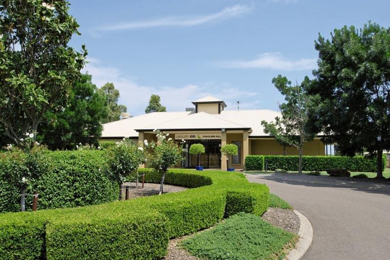 Leisure Inn Pokolbin Hill Garten