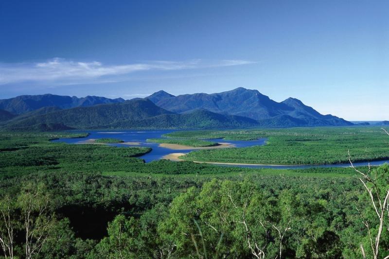 Sovereign Cooktown Landschaft