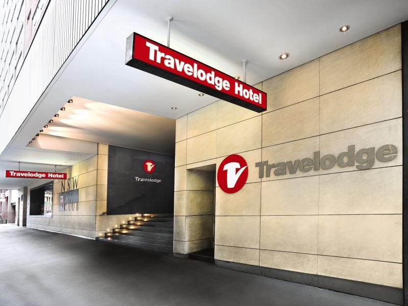 Travelodge Hotel Sydney Martin Place Außenaufnahme