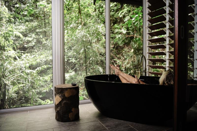 Daintree Ecolodge Lounge/Empfang