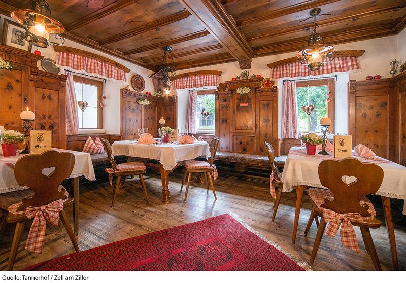 Hotel-Pension Tannerhof Restaurant