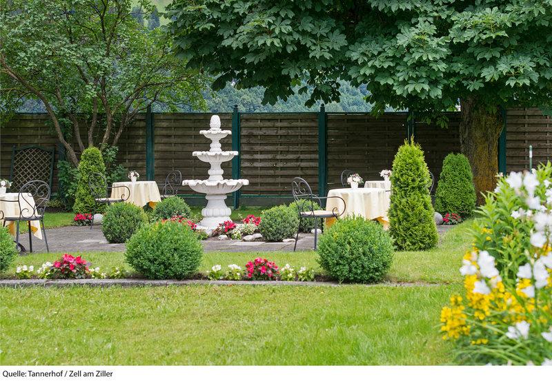 Hotel-Pension Tannerhof Garten