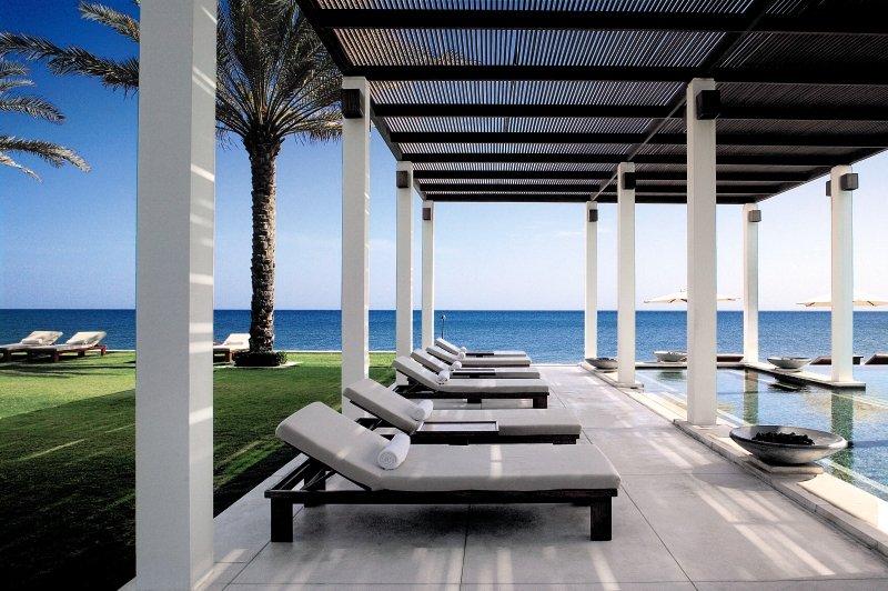 The Chedi Muscat Pool