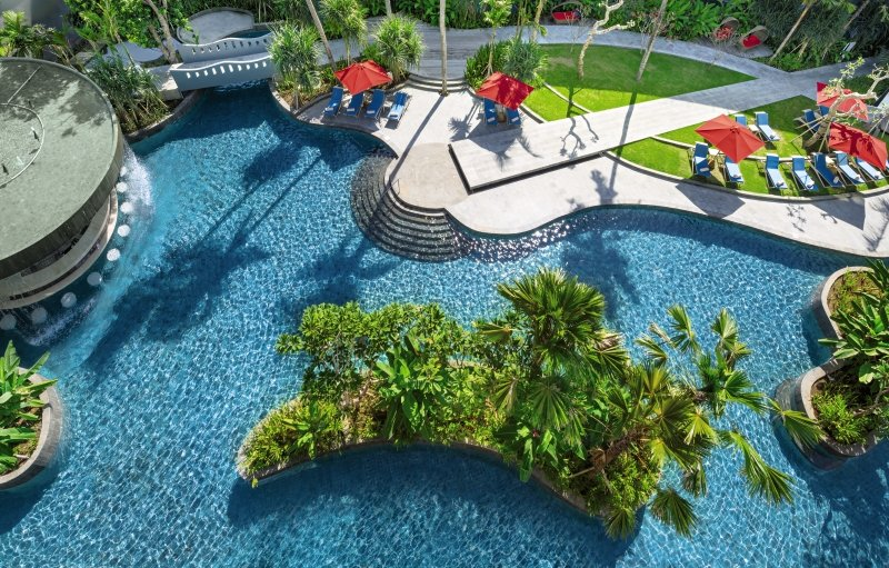 Le Meridien Bali Jimbaran Pool