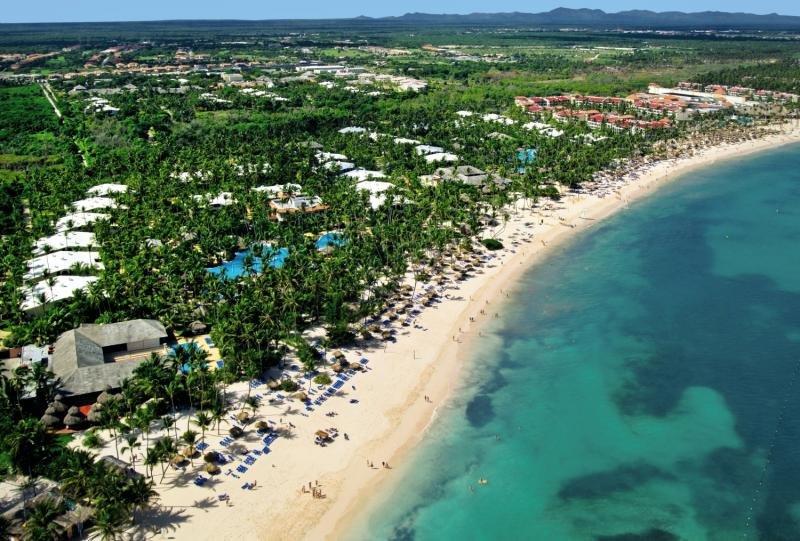 Melia Caribe Beach Resort Landschaft