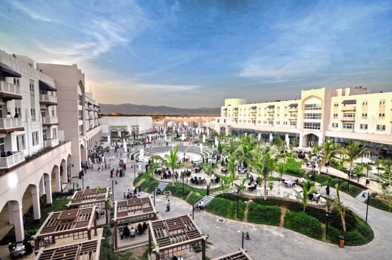 Salalah Gardens Hotel  Außenaufnahme