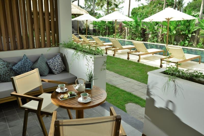 The Open House Terrasse