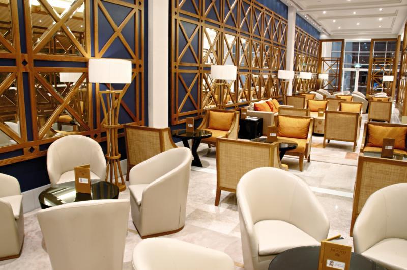 Salalah Gardens Hotel  Lounge/Empfang