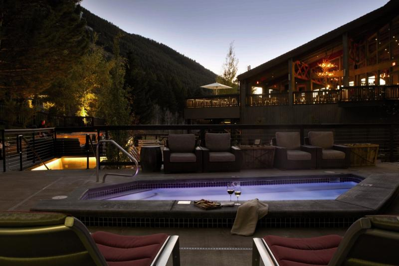 Snow King Resort Hotel & Condos Terrasse