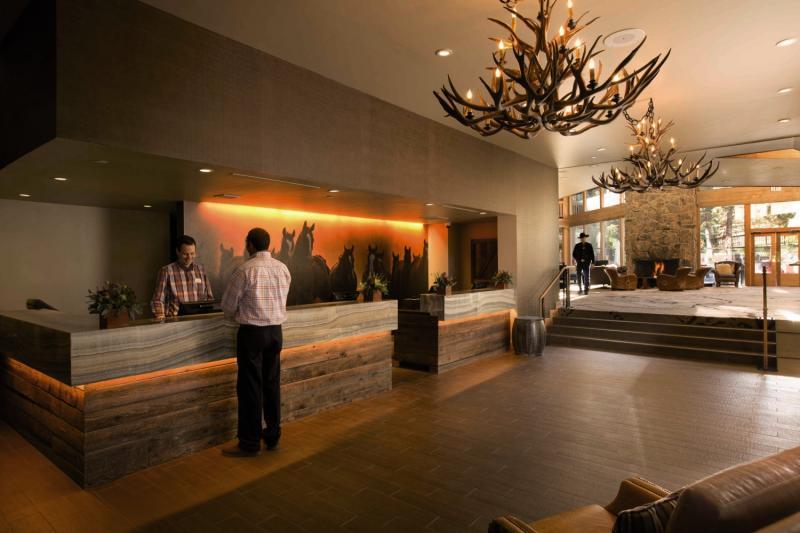 Snow King Resort Hotel & Condos Lounge/Empfang
