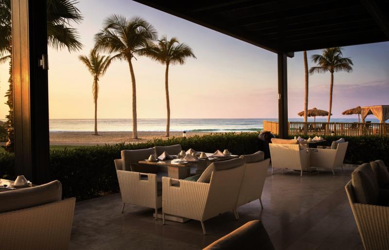 Salalah Rotana Resort Terrasse