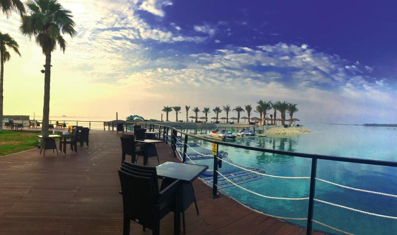 Lagoona Beach Luxury Resort & Spa Terrasse