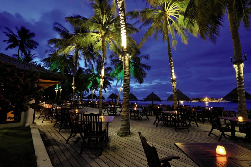 Sun Island Resort & Spa Terrasse
