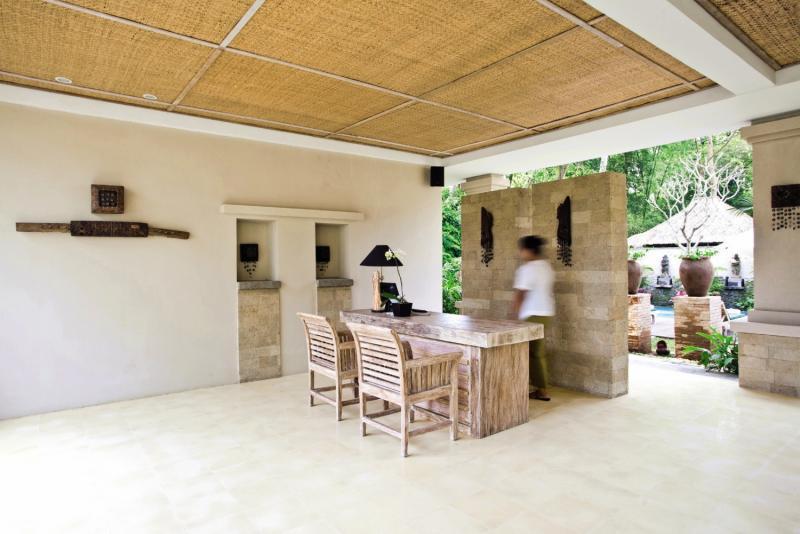 Puri Sunia Resort Lounge/Empfang