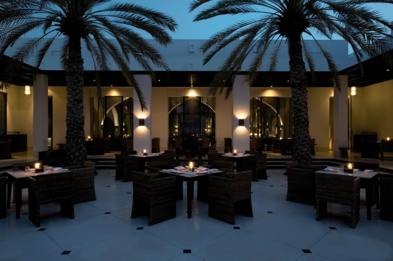 The Chedi Muscat Lounge/Empfang