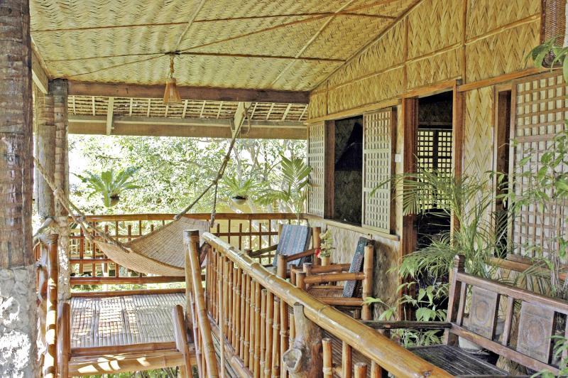 Coco Beach Island Resort Terrasse