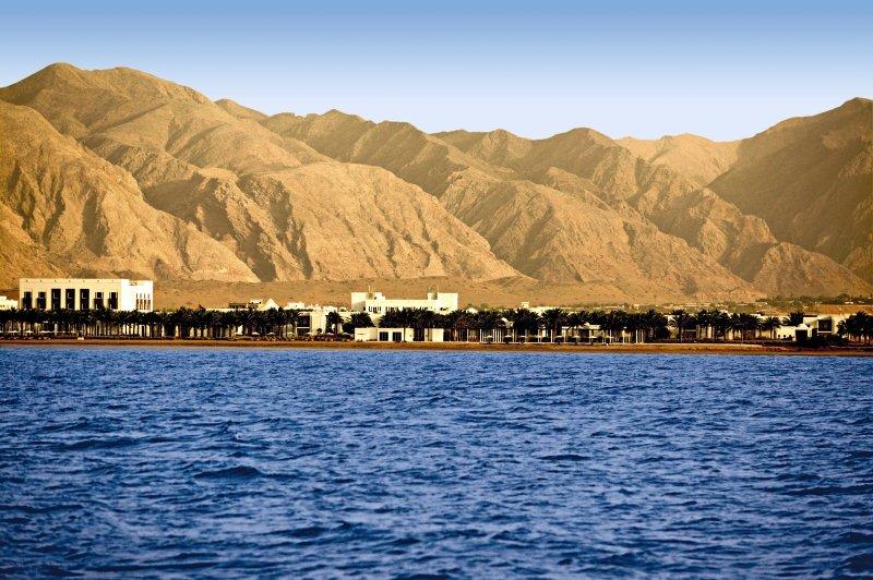 The Chedi Muscat Landschaft