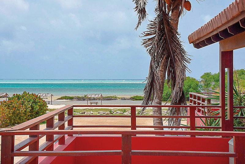 Sorobon Beach Resort Terrasse