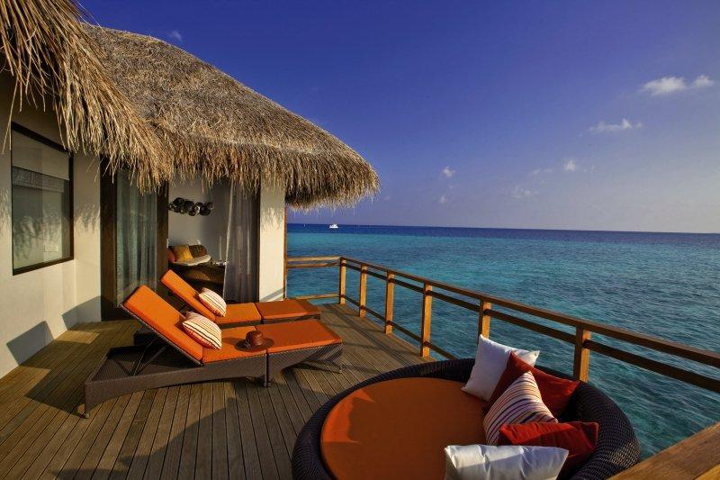 Velassaru Maldives Terrasse