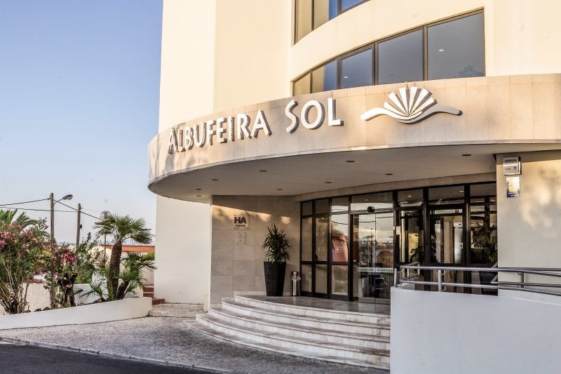 Albufeira Sol Hotel Apartamento & Spa Außenaufnahme