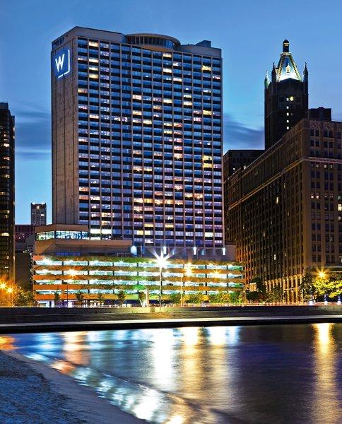 W Chicago Lakeshore Außenaufnahme