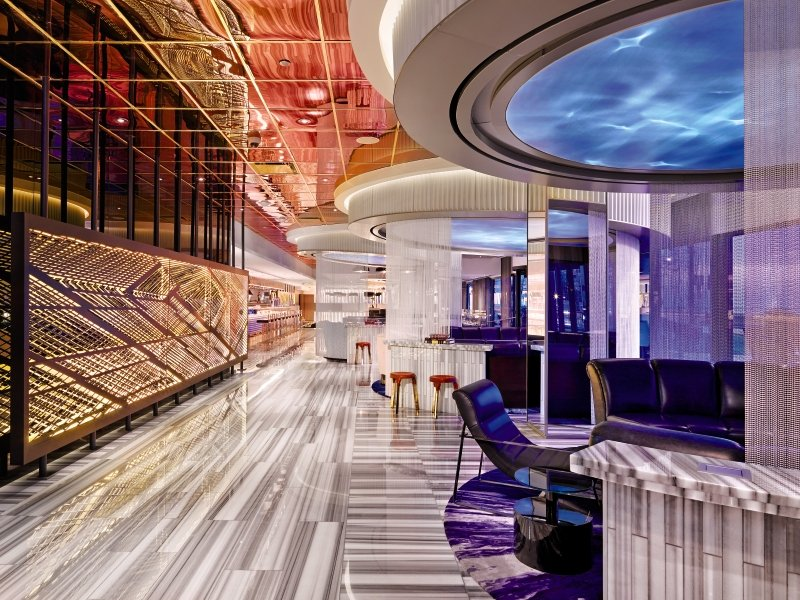 W Chicago Lakeshore Lounge/Empfang