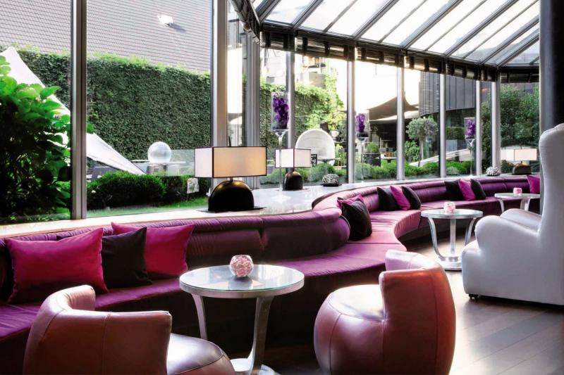 Sofitel Brussels Le Louise Lounge/Empfang