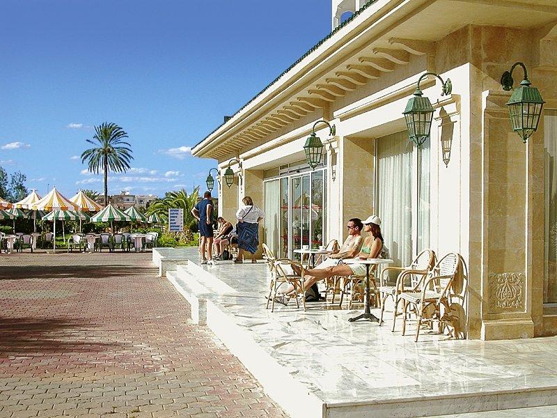 Hotel Palmyra Aquapark  Terrasse