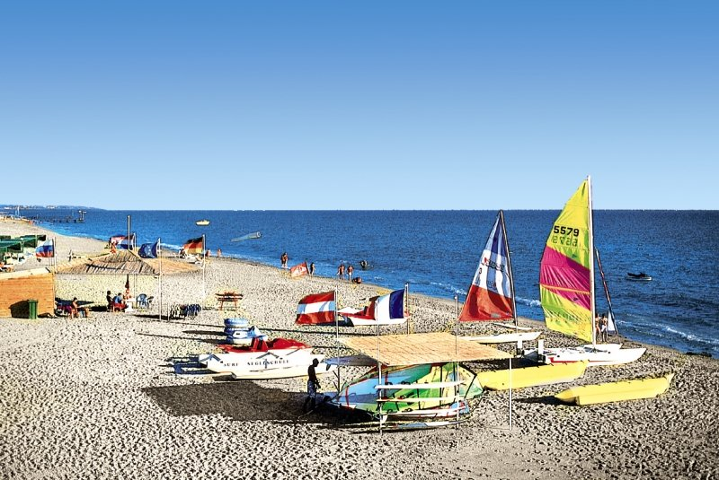 Selge Beach Resort & Spa - Halal Hotel Strand
