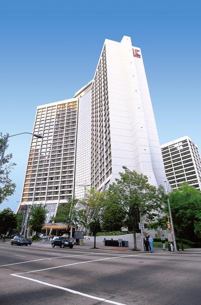Hilton Atlanta Außenaufnahme