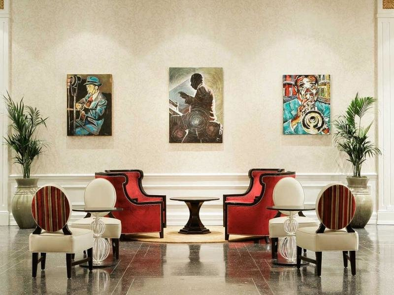 The Roosevelt New Orleans Lounge/Empfang