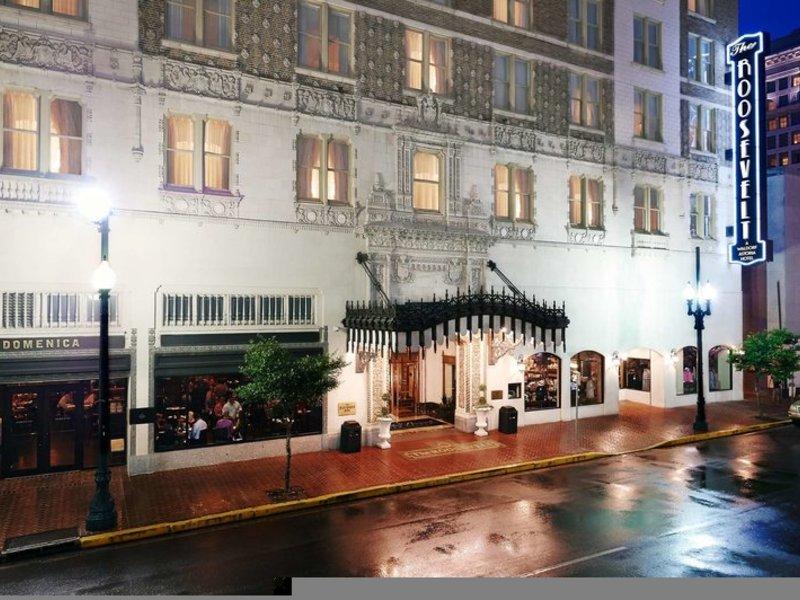 The Roosevelt New Orleans Außenaufnahme
