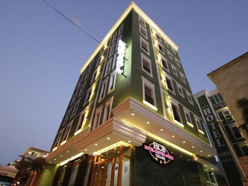The Capital Tirana Hotel Außenaufnahme