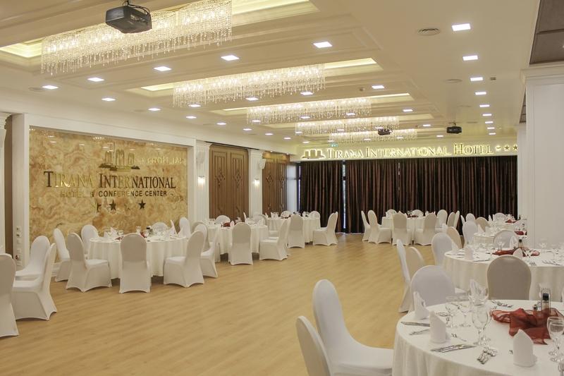Tirana International Hotel & Conference Center Konferenzraum