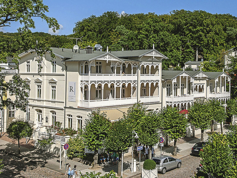 Roewers Privathotel Außenaufnahme