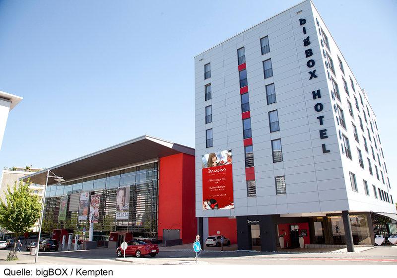 bigBOX Hotel Außenaufnahme