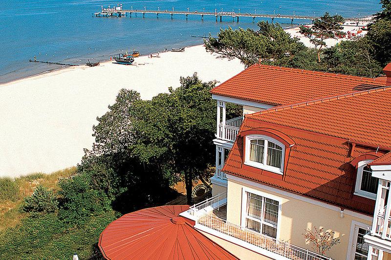 Travel Charme Strandhotel Bansin Terrasse