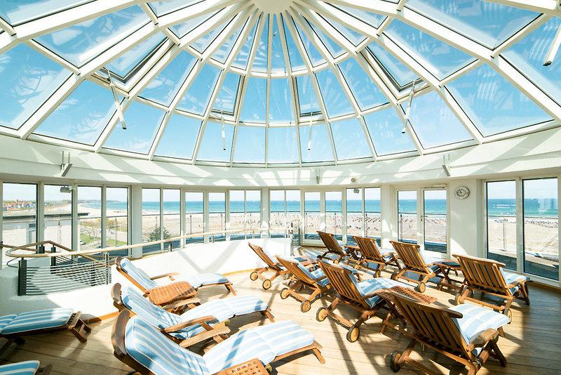 Strand-Hotel Hübner Lounge/Empfang
