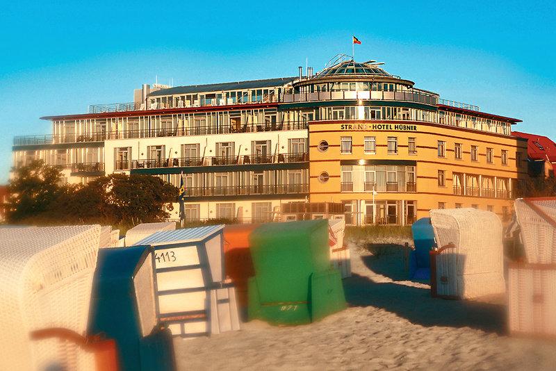 Strand-Hotel Hübner Außenaufnahme