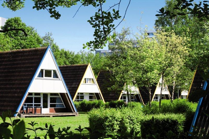Ostsee Resort Damp Ferienhäuser Außenaufnahme