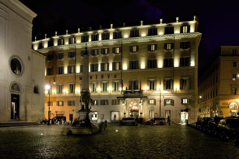 Grand Hotel de La Minerve Außenaufnahme