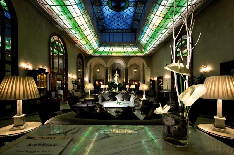 Grand Hotel de La Minerve Lounge/Empfang