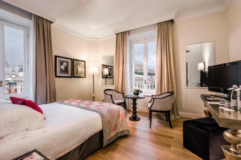 Grand Hotel de La Minerve Wohnbeispiel