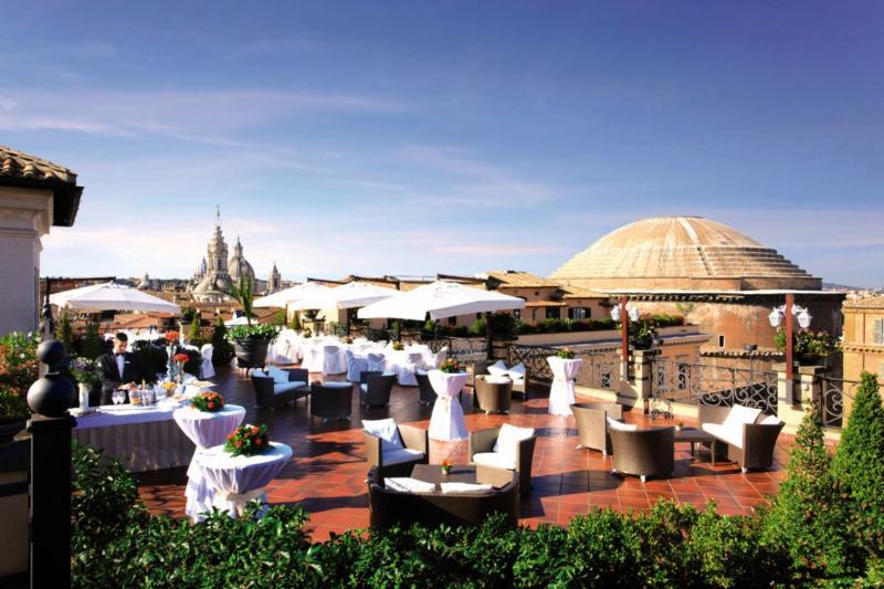 Grand Hotel de La Minerve Terrasse