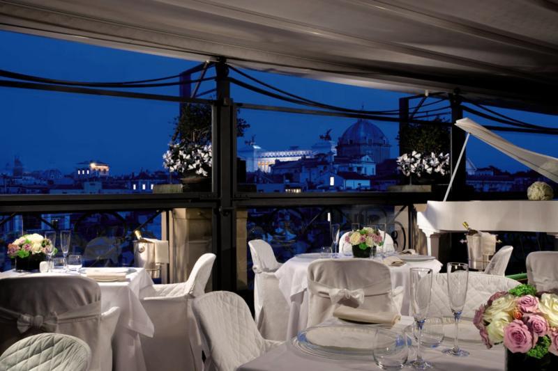 Grand Hotel de La Minerve Restaurant